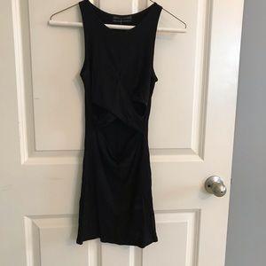 Black party dress- misses